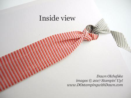 Stampin' Up! Cool Treats Bundle card created by Dawn Olchefske for DOstamperSTARS Thursday Challenge #DSC218 #dostamping