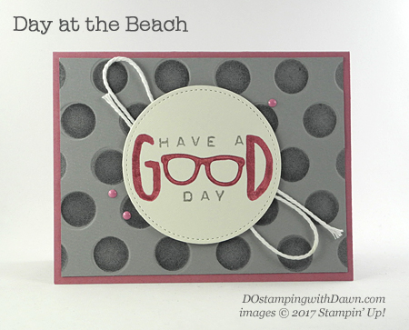 Stampin' Up! Day at the Beach card shared by Dawn Olchefske #dostamping