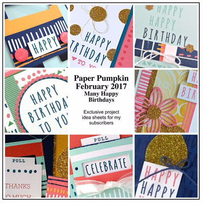 Get 10-12 exclusive ideas from me each month when you subscribe to Paper Pumpkin with me #dostamping