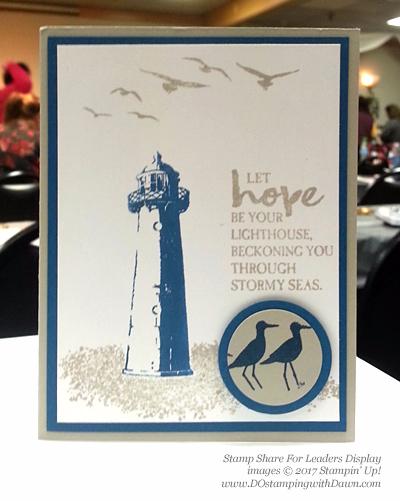 Stampin' Up! High Tide stamp set cards shared by Dawn Olchefske #dostamping (SS4L Display card)