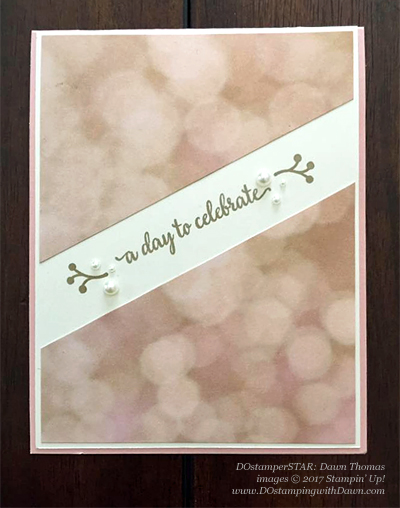 Stampin' Up! DOstamper STARS Friday Feature cards shared by Dawn Olchefske #dostamping (Dawn Thomas)