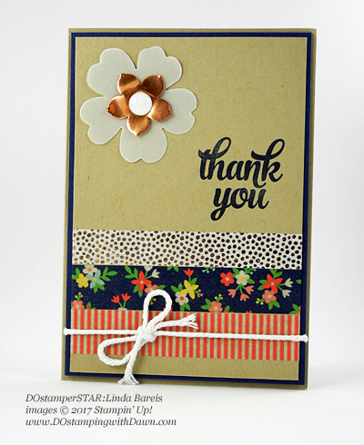 Stampin' Up! DOstamper STARS Friday Feature cards shared by Dawn Olchefske #dostamping (Linda Bareis)