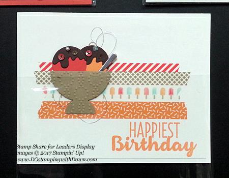 Stampin' Up! Cool Treats Bundle & Suiteswap cards shared by Dawn Olchefske #dostamping