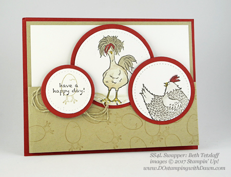 Stampin' Up! Sale-a-Bration Hey Chick shared by Dawn Olchefske #dostamping (Beth Tetzlaff)