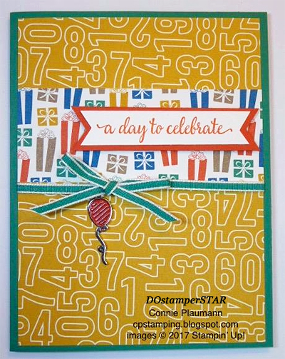 Stampin' Up! Party Animal Create & Play Kit for DOstamperSTARS shared by Dawn Olchefske #dostamping (Connie Plaumann)