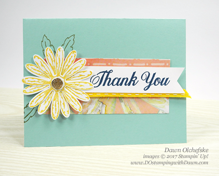 Delightful Daisy Suite Stampin' Up! On Stage 2017 make & takes shared by Dawn Olchefske #dostamping
