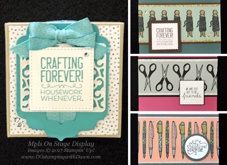 NEW Stampin' Up! Crafting Forever stamp set coming June 1 #dostamping