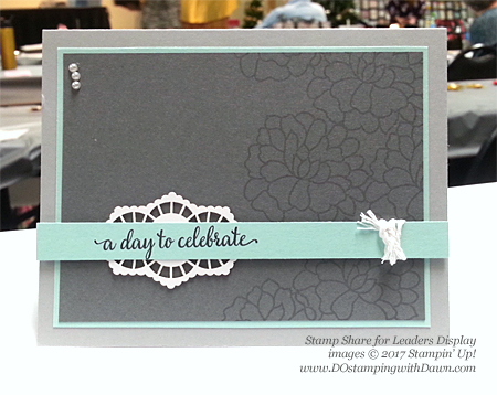 Stampin' Up! So in Love swap cards shared by Dawn Olchefske #dostamping
