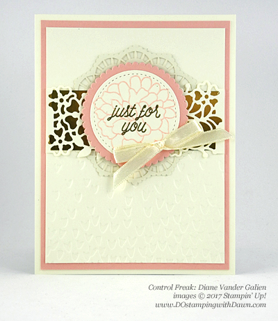 Stampin' Up! So in Love swap cards shared by Dawn Olchefske #dostamping (Diane Vander Galien)