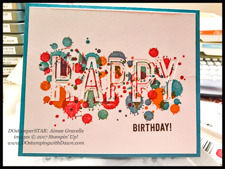 Stampin' Up! Happy Celebrations stamp and Celebrations Duo Textured Impressions Embossing Folders swap cards shared by Dawn Olchefske #dostamping (DOstamperSTAR: Aimee Gravelle)
