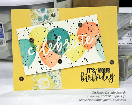 Stampin' Up! Celebrations Duo Textured Impressions Embossing Folders swap cards shared by Dawn Olchefske #dostamping