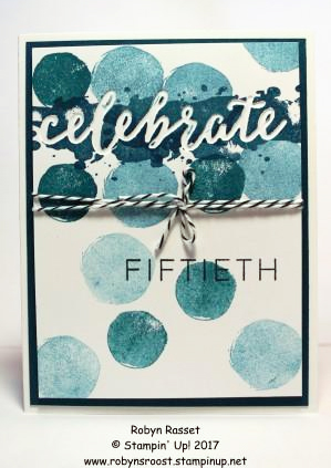 Stampin' Up! Celebrations Duo Textured Impressions Embossing Folders swap cards shared by Dawn Olchefske #dostamping (Robyn Rasset)