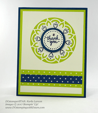 Stampin' Up! DOstamperSTARS Friday Feature cards shared by Dawn Olchefske #dostamping (Karla Larson)