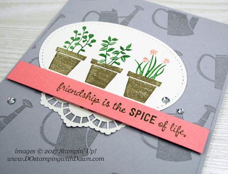 Stampin' Up! Gift From the Garden card shared by Dawn Olchefske #dostamping
