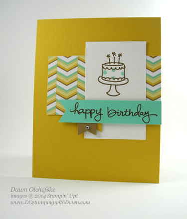 Stampin' Up! Endless Birthday Wishes #dostamping