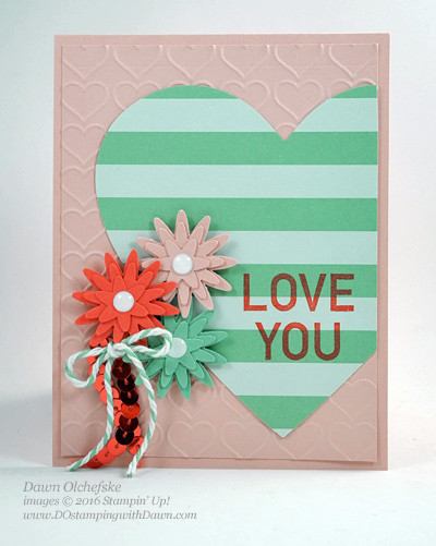 Stampin' Up! Blossom Bunch Punch Paper Pumpkin card created by Dawn Olchefske #dostamping