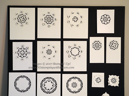 Lots of ways to use Stampin' Up! Eastern Medallions Thinlits Dies #dostamping