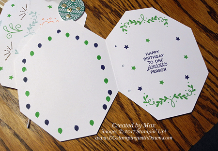 Max's creations with #dostamping
