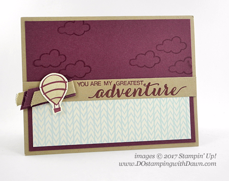 Stampin' Up! host set, Dare To Dream shared by Dawn Olchefske #dostamping