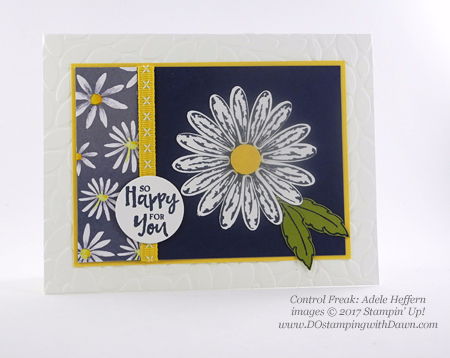 Stampin' Up! Delightful Daisy Bundle swap cards shared by Dawn Olchefske #dostamping (Adele Heffern)