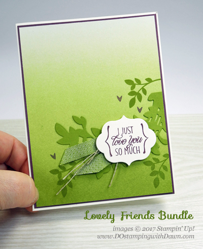 Stampin' Up! Lovely Friends cards shared by Dawn Olchefske #dostamping, Two For Tuesday