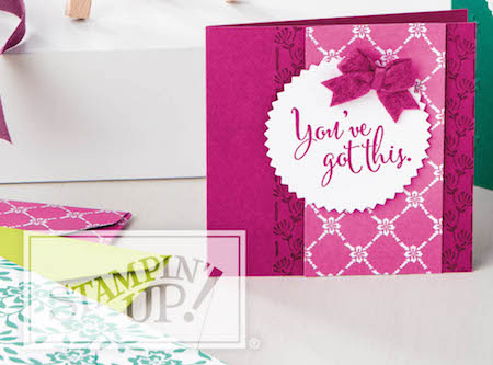 Stampin' Up! 2017-18 Annual CatalogCASE the Catty page 94card shared by Dawn Olchefske #dostamping