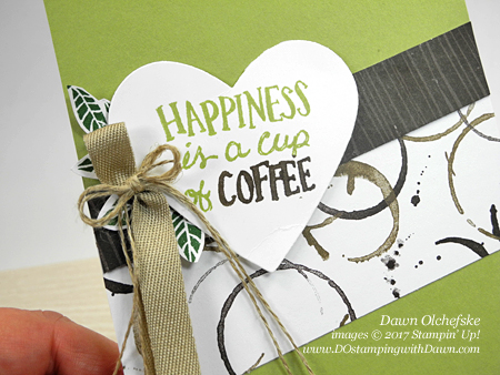 Stampin' Up! Coffee Break Designer Series Paper card by Dawn Olchefske for DOstamperSTARS Thursday Challenge #DSC239 #dostamping