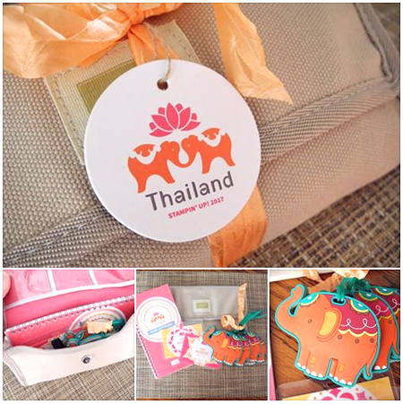 Stampin' Up! Thailand Incentive Trip Wallet #dostamping