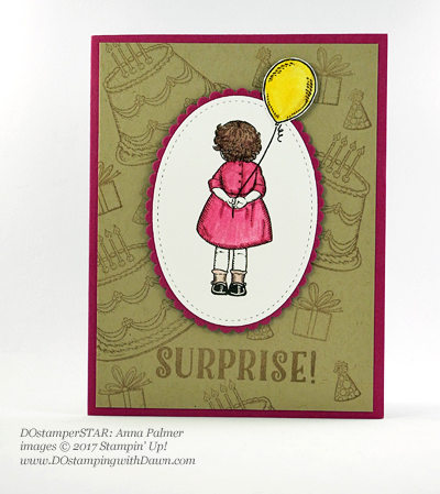 Stampin' Up! Birthday Delivery card shared by Dawn Olchefske #dostamping (Anna Palmer)