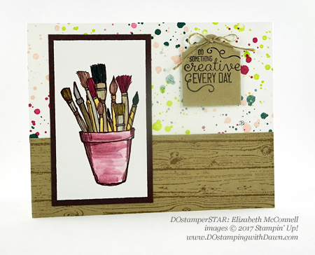 Stampin' Up! Crafting Forever card shared by Dawn Olchefske #dostamping (Elizabeth McConnell)