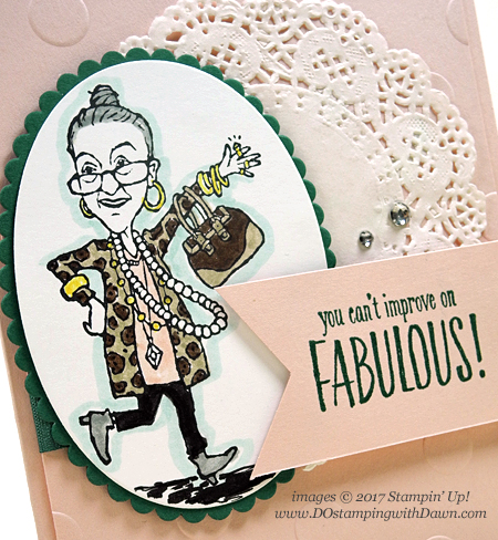 Stampin' Up! You've Got Style card shared by Dawn Olchefske #dostamping