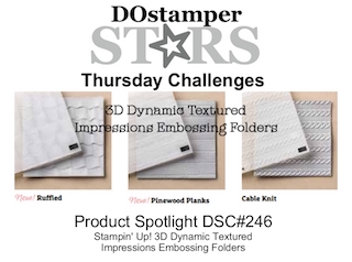 DOstamperSTARS Thursday Challenge #246-Product Spotlight #dostamping