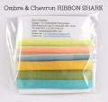 Stampin' Up! Ombre & Chevron Ribbon Share offered by Dawn Olchefske #dostamping
