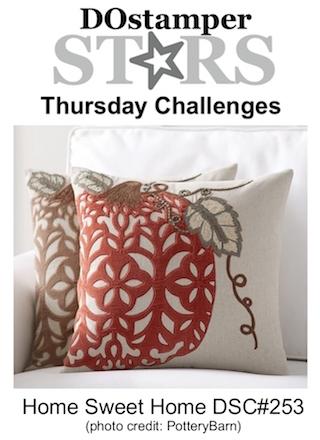 DOstamperSTARS Thursday Challenge #DSC253 #dostamping #stampinup #handmade #cardmaking #stamping #diy