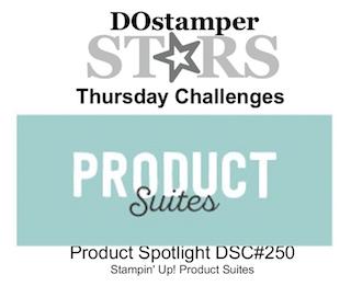 DOstamperSTARS Thursday Challenge #DSC250 #dostamping #stampinup #handmade #cardmaking #stamping #diy