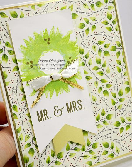 Stampin' Up! Painted Harvest cards (Wedding, Holiday) shared by Dawn Olchefske #dostamping #stampinup #handmade #cardmaking #stamping #diy #paintedharvest