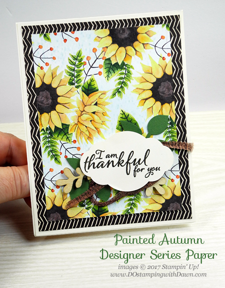 Stampin' Up! Painted Autumn Designer Series Paper cards shared by Dawn Olchefske #dostamping  #stampinup #handmade #cardmaking #stamping #diy #paintedautumn