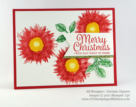 Stampin' Up! Painted Harvest Bundle swap cards shared by Dawn Olchefske #dostamping  #stampinup #handmade #cardmaking #stamping #diy #paintedharvest (Georgia Giguere)