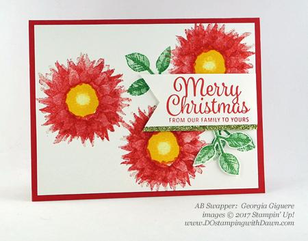 Stampin' Up! Painted Harvest Bundle swap cards shared by Dawn Olchefske #dostamping #stampinup #handmade #cardmaking #stamping #diy #paintedharvest (Georgia Giguere)