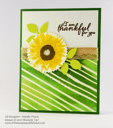 Stampin' Up! Painted Harvest Bundle swap cards shared by Dawn Olchefske #dostamping #stampinup #handmade #cardmaking #stamping #diy #paintedharvest (Natalie Travis)