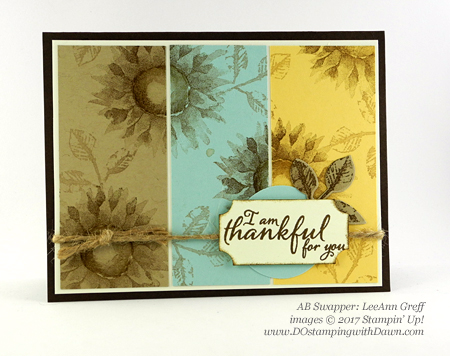Stampin' Up! Painted Harvest Bundle swap cards shared by Dawn Olchefske #dostamping  #stampinup #handmade #cardmaking #stamping #diy #paintedharvest (LeeAnn Greff)