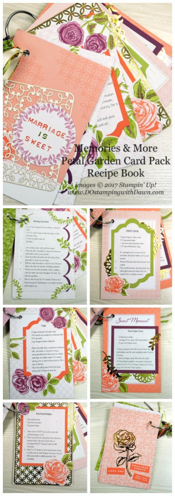 Stampin' Up! Memories & More Petal Garden Card Pack projects shared by Dawn Olchefske #dostamping  #stampinup #handmade #cardmaking #stamping #diy #petalgarden #memoriesandmore