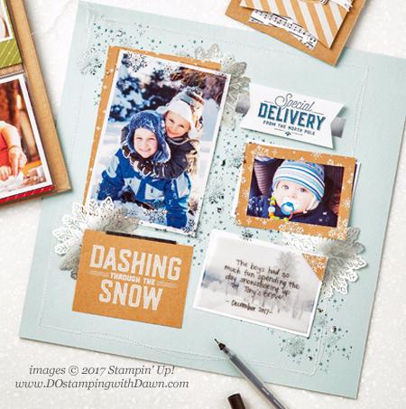 Stampin' Up! Memories & More Merry Little Christmas Card Pack shared by Dawn Olchefske for DOstamperSTARS Thursday Challenge #DSC250 #dostamping #stampinup #handmade #cardmaking #stamping #diy #merrylittlechristmas #christmas #memoriesandmore