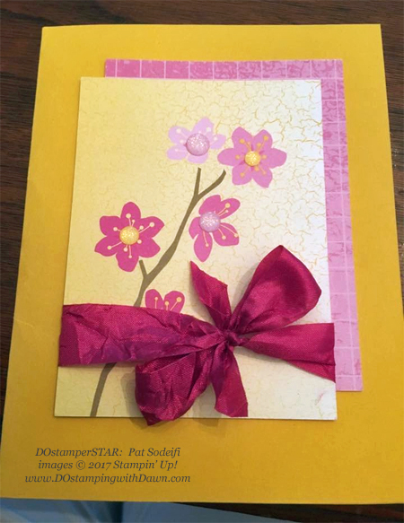 Stampin' Up! Memories & More Color Theory Card Pack cards shared by Dawn Olchefske #dostamping  #stampinup #handmade #cardmaking #stamping #diy #memoriesandmore #colortheory (Pat Sodeifi)