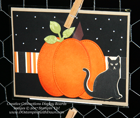 Stampin' Up! Spooky Cat Samples shared by Dawn Olchefske #dostamping  #stampinup #handmade #cardmaking #stamping #diy #spookycat #trickortreat #halloween #catpunch (