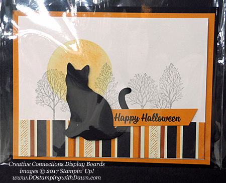 Stampin' Up! Spooky Cat Samples shared by Dawn Olchefske #dostamping  #stampinup #handmade #cardmaking #stamping #diy #spookycat #trickortreat #halloween #catpunch