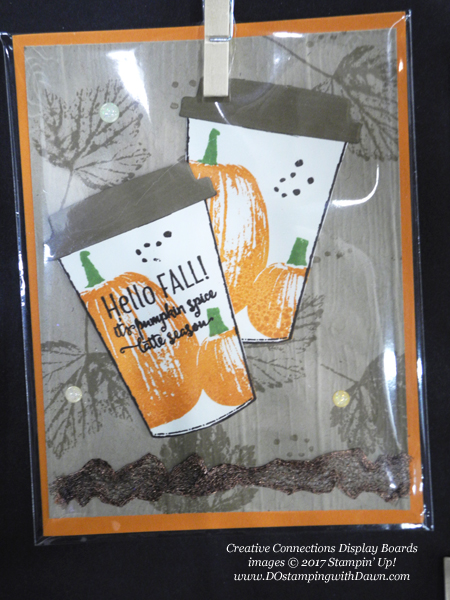 Stampin' Up! Gourd Goodness stamp set & Coffee Cups Framelits shared by Dawn Olchefske #dostamping #stampinup #handmade #cardmaking #stamping #diy #fall #halloween #rubberstamping