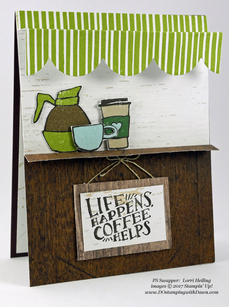 Stampin' Up! Coffee Break Designer Series Paper shared by Dawn Olchefske #dostamping #stampinup #handmade #cardmaking #stamping #diy #rubberstamping (Lorri Heiling)