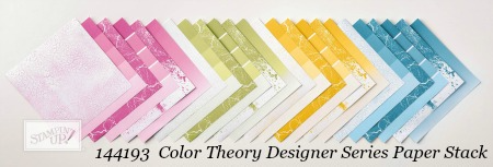 Stampin' Up! Color Theory Designer Series Paper Stack shared by Dawn Olchefske #dostamping #stampinup #handmade #cardmaking #stamping #diy #rubberstamping