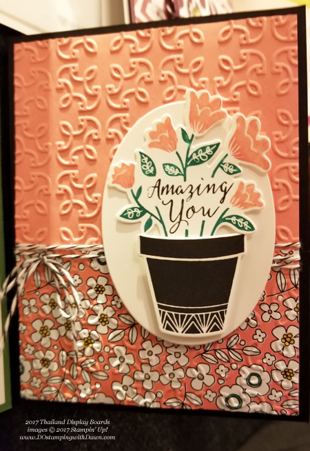 Stampin' Up! Pick a Pattern Designer Series Paper shared by Dawn Olchefske #dostamping #stampinup #handmade #cardmaking #stamping #diy #rubberstamping